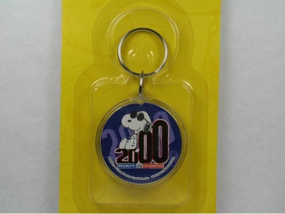 Joe Cool 2000 acrylic key chain