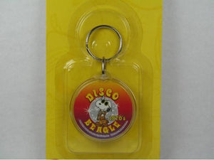 Disco Beagle acrylic key chain