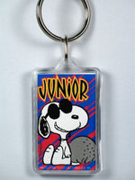 Joe Cool Junior acrylic key chain