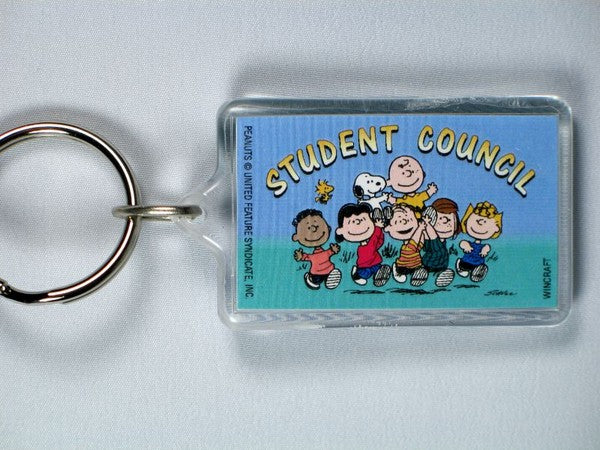 Student Council acrylic key chain