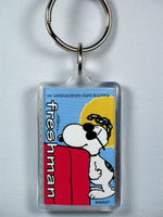 Joe Cool Freshman acrylic key chain