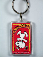Snoopy Sophomore acrylic key chain