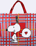 Charlie Brown and Snoopy Tote Bag - Love Letter