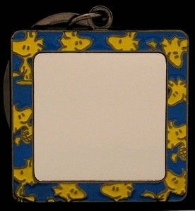 WOODSTOCK Mirror Key Chain