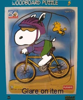 Snoopy Biker Wood Puzzle