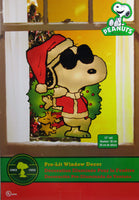 Joe Cool Indoor/Outdoor Pre-Lit Christmas Window Decor