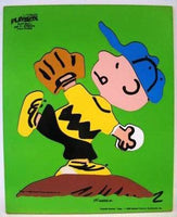 Charlie Brown Wood Puzzle - Play Ball!