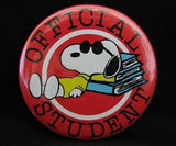 OFFICIAL STUDENT PINBACK BUTTON