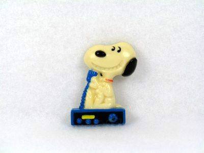 Snoopy With Boombox Magnet