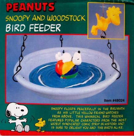 Snoopy and Woodstock Bird Feeder
