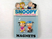 Charlie Brown and Lucy Magnet Set