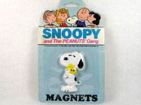 Snoopy and Woodstock Hug magnet