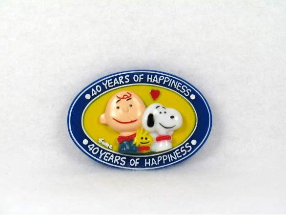 40 Years of Happiness magnet