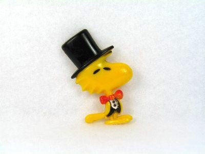 Woodstock Wearing Top Hat Magnet