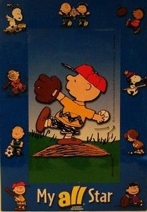 Charlie Brown ALL Magnet and Picture Frame
