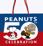 50th Anniversary Peanuts Gang Extra-Large Gift Bag