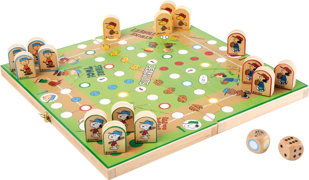 Peanuts Ludo Wooden Board Game