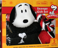 Snoopy 5-Piece Pet Toy Gift Set - BETTER VALUE!
