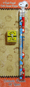 60th Anniversary Pencil and Eraser Set