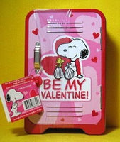 Be My Valentine tin locker