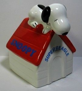 "Snoopy Superbeagle Music Box - Plays ""Home Sweet Home"""