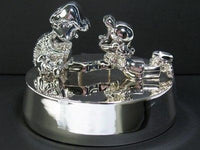 Schroeder and Lucy Silverplated Music Box - Plays
