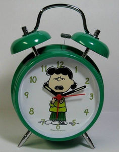 Lucy Twin-Bell Alarm Clock