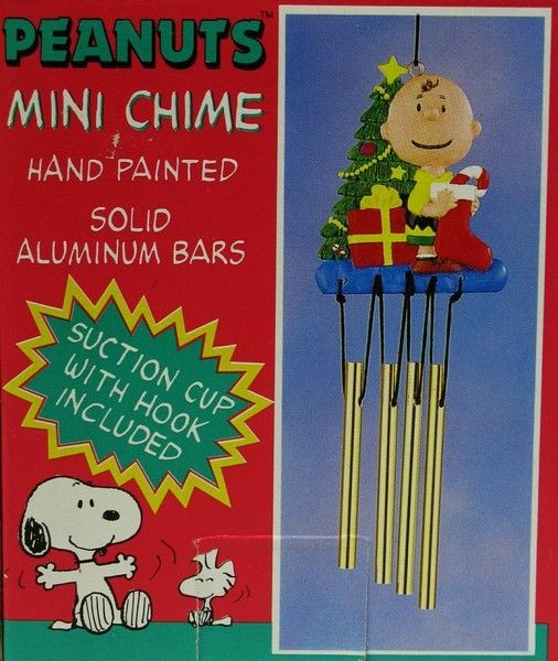 Charlie Brown Christmas Wind Chime