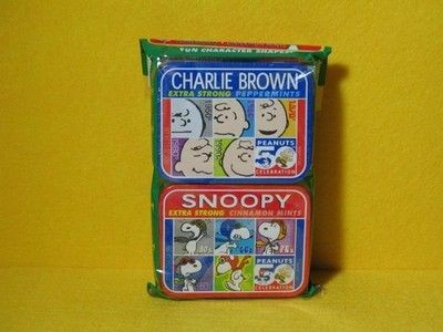 Peanuts 50th Anniversary mints tin set