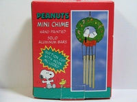 Snoopy On Wreath Wind Chime