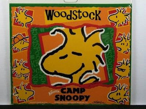 Camp Snoopy Large Vinyl Magnet - Woodstock