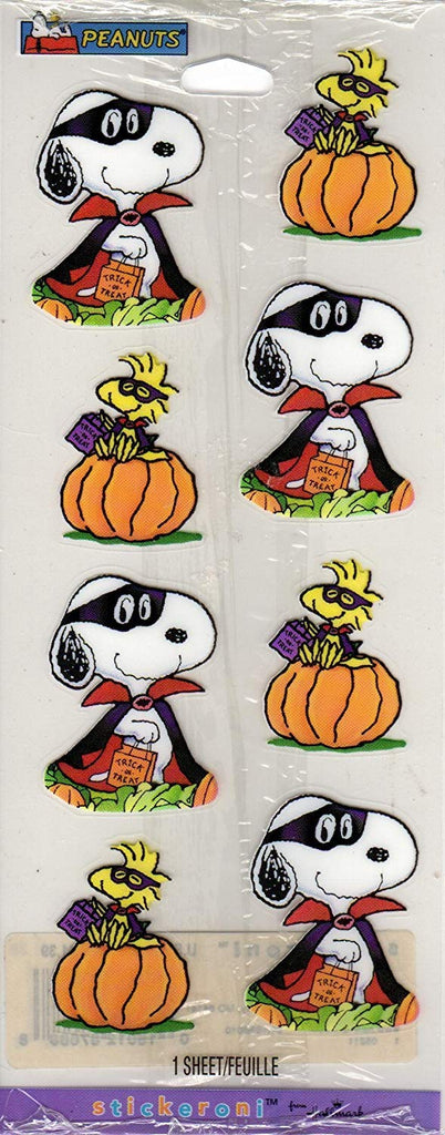 Snoopy Halloween Stickers