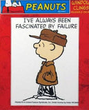 "Mini Window Cling - ""I've always been fascinated by failure"""
