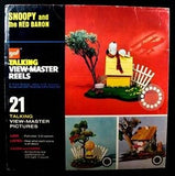 Snoopy and The Red Baron Talking View-Master Set