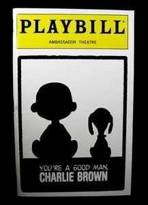 Charlie Brown Playbill