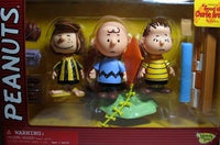 Peppermint Patty, Charlie Brown, & Linus Figure Set - Memory Lane
