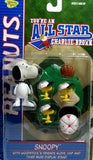 Snoopy and Woodstock Figures - All Star Memory Lane (Red Uniform)