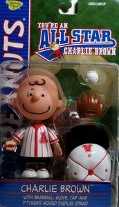 Charlie Brown Figure - All Star Memory Lane (Red Uniform)