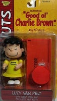 Lucy & Psych. Booth Figure - Good Ol' Charlie Brown Memory Lane