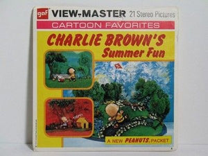 Charlie Brown's Summer Fun View-Master Reels