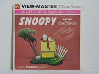 Snoopy and The Red Baron View-Master Set