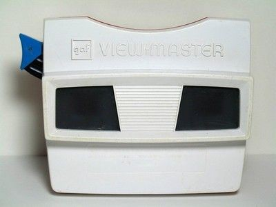 White-Face View-Master Viewer