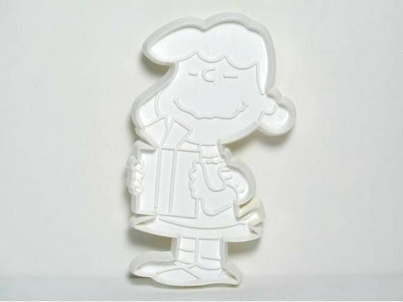 Lucy - WHITE Cookie Cutter