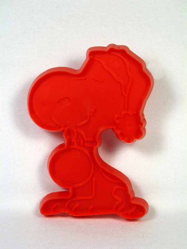 Snoopy Santa - RED Cookie Cutter
