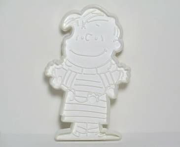 Linus - WHITE Cookie Cutter