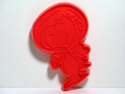 Snoopy Astronaut - RED Cookie Cutter