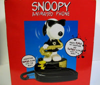 Joe Cool and Woodstock Musical and Animated Telephone