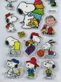 Snoopy Puffy Metallic Sticker Set - Great For Scrapbooks!