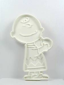Charlie Brown - WHITE Cookie Cutter