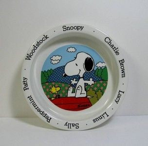 Peanuts Gang Johnson Brothers Ceramic Bowl